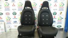 FIAT 500 ABARTH 595 SEATS DRIVER PASSENGER FRONT REAR SEAT