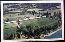 CANADA~1940's FREDERICTON ~ The Aula Overnight Camp ~ Little Cottages ~ Camping