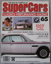 SUPERCARS magazine Issue 65 Featuring BMW CSL Cutaway & poster, Jacky Ickx