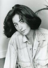 CECILA PAOLI  L'AMBASSADE EN FOLIE  TV  1989  VINTAGE PHOTO 80s