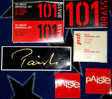 "PAISTE: ""STICKERS"" - ITEM NEW!!!!"