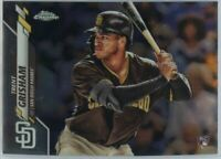 2020 Topps Chrome Trent Grisham Rookie Card #101 San Diego Padres OF