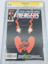 AVENGERS #v3 #19 CGC 9.4 SS STAN LEE SIGNED SIGNATURE SERIES RARE