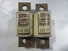 (2) Buss KAB100 Rectifier Fuses 100A 250V NEW!!! with Free Shipping