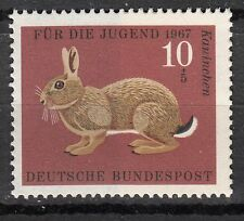 TIMBRE ALLEMAGNE  NEUF N° 387 **  FAUNE LAPIN