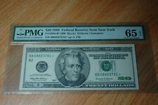 1999 $20 New York District Federal Reserve Star Note FR 2086-B* Uncirculated