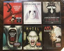 American Horror Story: The Complete First Six Seasons - Blu Rays with Slips