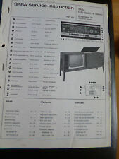 Original Service Manual SABA Bodensee 18