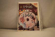 Flickback Greeting or Birthday Card With DVD  For Those Born in 1946    (v417)