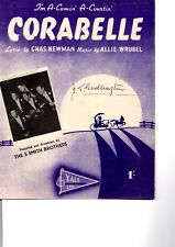 I'm A-Comin'nA-Courtin' Corabelle - Sheet music and lyrics