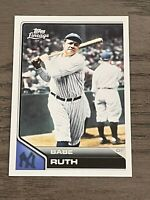 2011 Topps Lineage Babe Ruth #100 New York Yankees