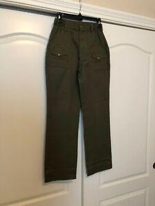 BOY SCOUTS 6 pocket uniform cargo pants size 16 waist 28 GREAT CONDITION!