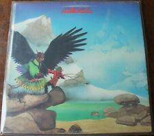 Budgie. Never turn your back on a friend LP. Cover G vinyl VG