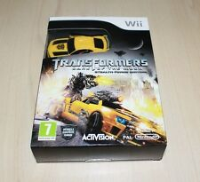 Transformers Dark of the Moon Stealth Force Ltd Edition Nintendo Wii NEW UK PAL