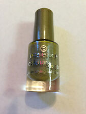 NEW ESSENCE NAIL POLISH ART COLOUR AND GO QUICK DRY HIGH SPIRITS GOLD SHIMMER