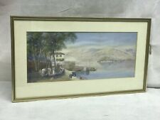 Signed Grand Tour Watercolour Signed Young 1910