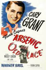 ARSENIC AND OLD LACE Movie POSTER 27x40 B Cary Grant Priscilla Lane Raymond