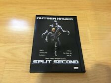 Split Second (DVD, 2002) Rutger Hauer 1992 Authentic USA R1 Release SnapCase OOP