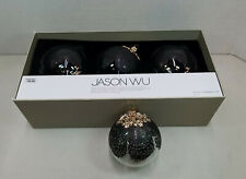 (Set of 4) Jason Wu Designed Glass Ornaments Exclusively for Target