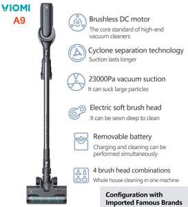 VIOMI A9 Aspirateur Sans Fil Portable LUMIÈRE LED 23Kpa Cyclone Filtre, EU