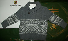 Very rare! Br New w/tags toddler boy Gap jumper sweater 12-18 -24 m