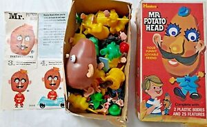 1960 Hasbro Mr. Potato Head: Huge Collection Body & Clothing Parts.Box Set #2050