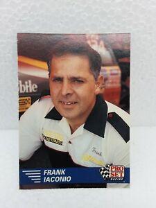 1991 Pro Set Frank Iaconio Trading Card Nhra