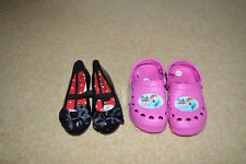 toddler girls shoes bundle pony beach summer sandals infant uk size 9 / 27  NEW