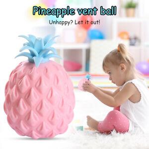 Children Fruit Pineapple Ball Squeeze Stress Relief Toy Ornament Handicraft
