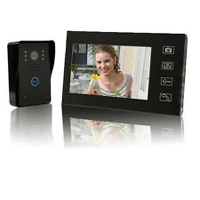"7"" Wireless Video Phone Home Door Intercom Doorbell IR Camera Night Vision US"