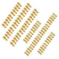 80pcs 3.5mm Gold Bullet Connector Plug Male Female for RC Battery ESC Motor Fast