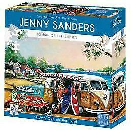 Jenny Saunders - Camp Out on the Lake 1000 Piece Jigsaw Puzzles