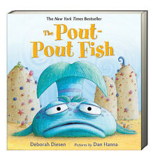 The Pout-Pout Fish (board book) by Deborah Diesen  learning to smile NEW