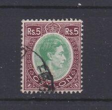CEYLON 289 Geo VI Rs.5 used 1938