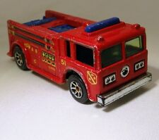 Hot Wheels  Mattel Fire Truck Red Engine 1976 vintage prototyp free shipping USA