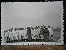 Photo argentique guerre 39 45 soldat Allemand wehrmacht WWII  tenue de travail 3