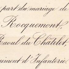 Alice Le Prieur De Roquemont Besançon 1881 Raoul Armynot Du Châtelet Saint-Phal