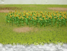 JTT (HO-Scale) 95523 SUNFLOWERS 1. Inch - 16/pk - NIB