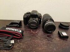 Canon EOS Rebel T3 12.2MP Digital SLR Camera - w/ 50mm F1.8 and 200mm lenses