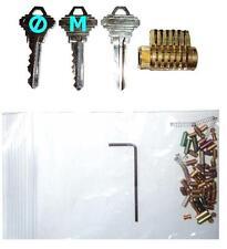Cutaway Lock Cylinder for Locksmith Practice &Training. Schlage Keyway Pick