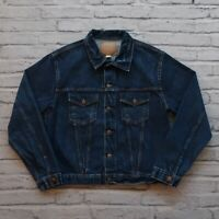Vintage RRL Double RL Ralph Lauren Type 3 Denim Trucker Jean Jacket Size L