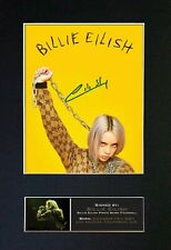 Billie Eilish ++ Autogramm + Don't Smile at Me Autograph When We All Fall Asleep