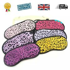 8 Leopard Print / Animal Eye Mask - Girls Pamper / Sleepover /Spa Party bags