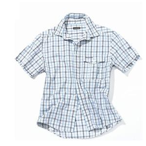 Craghoppers Mens Sheldon Short sleeve Check Shirt Cool Lightweight Quick Dry