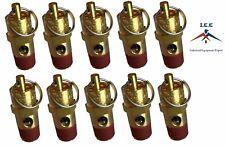 10 Pcs 14 Npt 175 Psi Air Compressor Safety Relief Pressure Valve Tank Pop Off