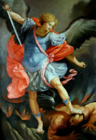 LMOP906 the Angels figures Kill Demons hand paint art oil painting on canvas