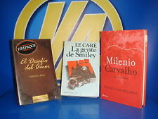 Book three books-millennium Carvalho-smiley's people - the challenge of love