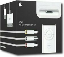 New In Box (Sealed) - Apple iPod iPhone AV Connection Kit Dock & Remote