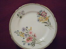 """Vintage Shelley 6"""" Bread Plate """"Wild Flowers"""" 13686 Bone China England Excellent"""