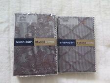 Sheridan Deluxe Living 1 Pair Standard P/case & 1 European P/caseLUSANNE CAVIAR